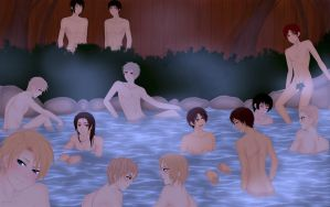 Hetalia HotSprings by SinfulHime