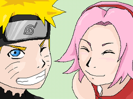 NaruSaku Cute Picture by sakura-raven-fan