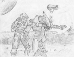 The Fight - by AussieTom by Spartan-II-Project