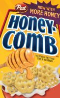 Honey Comb Cereal Vector by dhosford