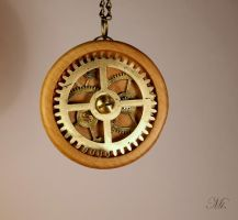 Steampunk pendant 35 by TheCraftsman