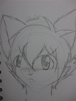 Gale quick sketch by ShyEcho