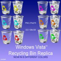 Vista Bins in color by pacman121