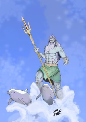 Poseidon - God of the Seas