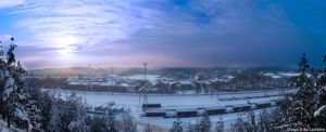Lahti - south panorama by Tinnunculus