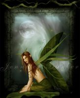 ::Lady Leaf-Hopper:: by JunkbyJen