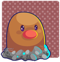 050 Diglett by Miss-Glitter