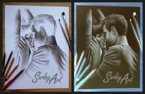 Fifty shades of grey by Sarley-Art