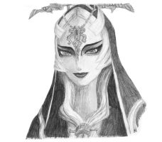Midna True Form by The-Gotheltic-Rowan