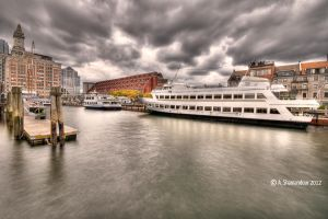 Boston Seaport by ashamandour