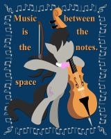 Between the Notes by Cyle