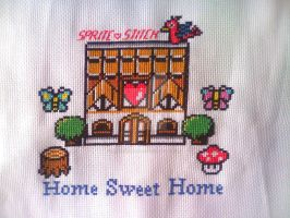 Sprite Stitch Home Sweet Home by Blackmageheart