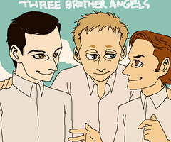 Three Brother Angels. by hasze