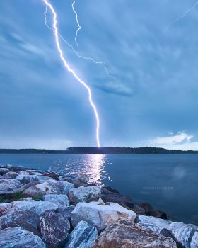 Lightning In Maryland USA by Stormy2010