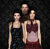 The Blackthorn Family by 3DXcentric