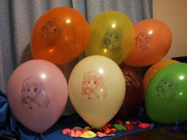 Doujin(Fan-made)original little girl's balloon!(2) by Solatokimi