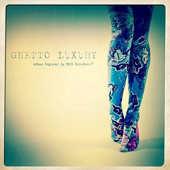 ghetto luxury tights by lickshots