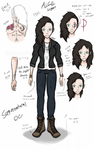 Supernatural OC: Alice Lugar (profile) by halomindy