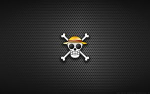 Wallpaper - Straw Hat Pirates Logo by Kalangozilla