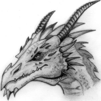 Dragon head by deathlouis