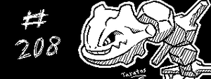 [Miiverse] #208 - Steelix by Taratos