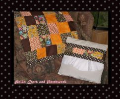 Polka Dots and Patchwork by DazinaCramoski