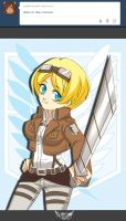 APH and Attack on Titan Crossover by APH-Ukraina