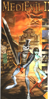 MediEvil 2 Poster Scan by RAWTalent93
