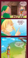 -- Zelda : Link and the broken vase -- by Kurama-chan