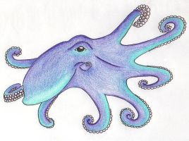 Pretty Octopus by GreenHeethar