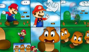 paper mario the tru story 3 who is bigger now by Goombarina
