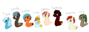 8 Ponies by Magasinet