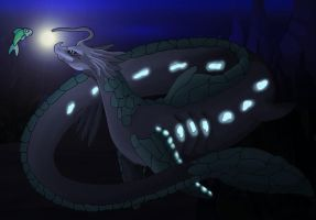 Leviathan Gleaming by TheWhiteShark