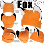 Fox Hat by calgarycosplay