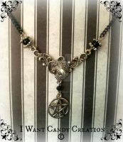HANDMADE - Witch Pentacle by IWantCandyCreation