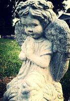Angel Baby in Prayer by ShortRED