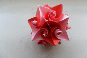 Curl Origami 3  : Valentine's Theme by fleecyblue