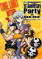 TWEWY: Party Poster by zerohime
