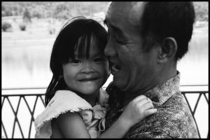 mr. wong and daugther by rajaBersiong