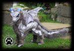 SOLD Luna the baby moon dragon poseable art doll! by CreaturesofNat