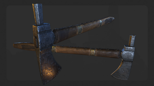 Old pipe axe by llMarcos