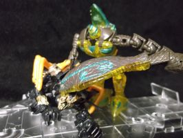 Beast Wars Quickstrike finishes off a bayformer by forever-at-peace