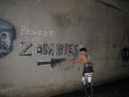 Here there are Zombies by kajun36