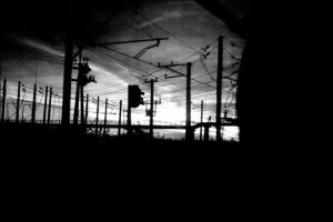 morning train - teleportation by shamanski