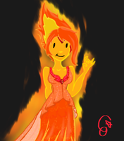 Flame Princess by co-nay