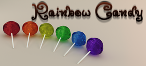 Rainbow Candy by Bromberry