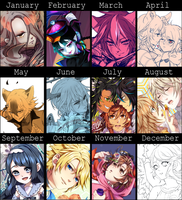 Art Summary 2014 by chisachan2010