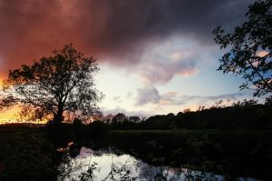 Lagan Sunset by Gerard1972