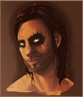 Skyrim - Farkas by Art-minion