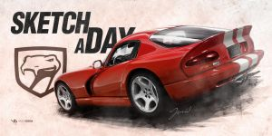 Viper Gts Sketch A Day by yasiddesign